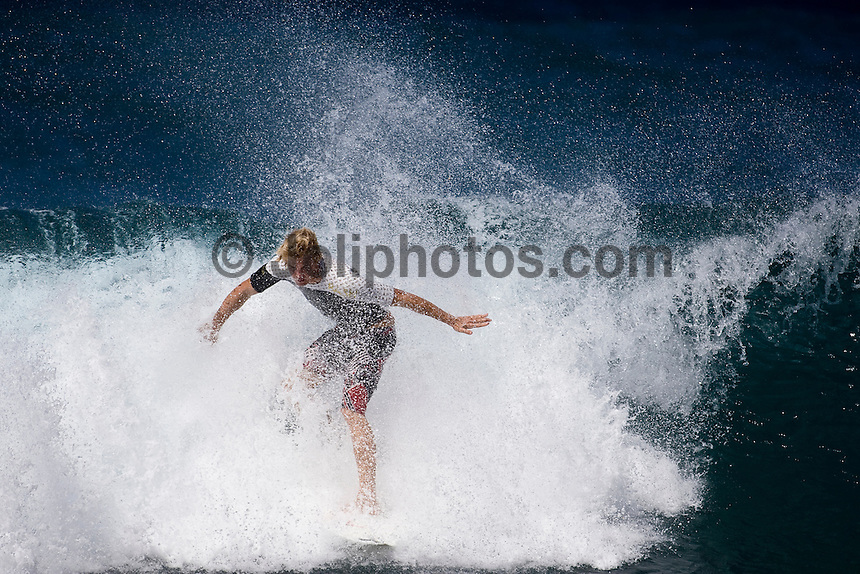 JAMIE O'BRIEN (HAW) surfing at Rocky Point on the North Shore of Oahu, Hawaii. Photo: joliphotos.com
