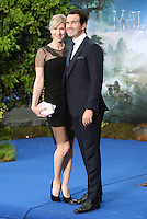 Karoline Copping and Jimmy Carr arriving for the Maleficent Private Costume Reception, at Kensington Palace, London. 08/05/2014 Picture by: Alexandra Glen / Featureflash