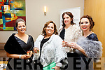Attending the Brides of Kerry Awards in the Ballyroe Heights Hotel on Sunday evening last.<br /> L-r, Deirdre and Siobhan Power, Joanna Murphy and Denise Barry.