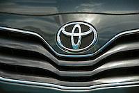 Toyota, Auto, Front Grill, Emblem, Symbol, Close up, Car, Auto, Automobile, Transportation,