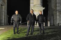 - Milano, manifestazione del gruppo di estrema destra Forza Nuova; il leader Roberto Fiore<br /> <br /> - Milan, demonstration of far-right group Forza Nuova; the leader Roberto Fiore