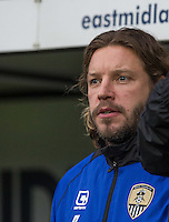 Alan Smith of Notts County before the Sky Bet League 2 match between Notts County and Wycombe Wanderers at Meadow Lane, Nottingham, England on 10 December 2016. Photo by Andy Rowland.