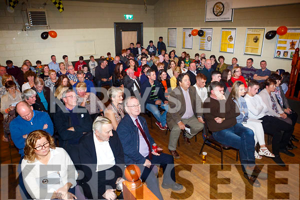 At the Austin Stacks All-Ireland Minor Winners Celebration Night in the clubhouse on Friday night