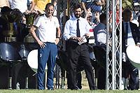Villar Perosa (To) 17-08-2017 friendly Match Juventus A - Juventus B / foto Daniele Buffa/Image Sport/Insidefoto <br /> nella foto: Massimiliano Allegri-Andrea Agnelli