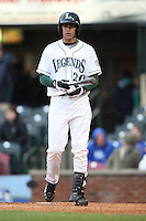 April 20, 2010: J.D. Martinez (20 ) of the Lexington Legends at Applebee's Park in Lexington, KY. The Legends are the Class A affiliate of the Houston Astros. Photo by: Chris Proctor/Four Seam Images