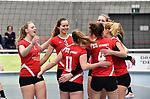 2018-03-10 / Volleybal / Seizoen 2017-2018 / Vrouwen Liga B Noorderkempen - Blaasveld / Blaasveld viert een punt<br /> <br /> ,Foto: Mpics.be