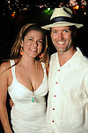 "Anne Paternostro and Scott Hutson at the ""A Night in Havana""  benefit at Concepcion on W. Alabama  Saturday July 21, 2012.(Dave Rossman/For the Chronicle)"