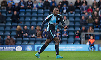 Aaron Pierre of Wycombe Wanderers during the Sky Bet League 2 match between Wycombe Wanderers and Crawley Town at Adams Park, High Wycombe, England on 28 December 2015. Photo by Andy Rowland / PRiME Media Images