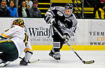 7 February 2009: Providence College Friars' left wing forward Andy Balysky, a Freshman from Randolph, N.J., in action against the University of Vermont Catamounts during the second game of a weekend series at Gutterson Fieldhouse in Burlington, Vermont. The Catamounts swept the 2-game series notching 4-1 wins in both games. Mandatory Photo Credit: Ed Wolfstein Photo