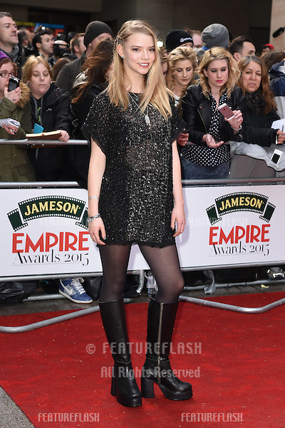 Anya Taylor-Joy arrives for the Empire Awards 2015 at the Grosvenor House Hotel, London. 29/03/2015 Picture by: Steve Vas / Featureflash