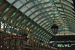 Interior of Covent Garden market, London UK