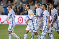 San Jose, CA - Wednesday September 19, 2018: Chris Wondolowski during a Major League Soccer (MLS) match between the San Jose Earthquakes and Atlanta United FC at Avaya Stadium.