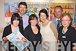 Mary Sugrue, Peter Harty, Linda Creagh, Valerie Trant Kevin, and Helina Sankar Pictured at the launch of CH Chemists annual Bump to Baby event which takes place on Wed 5th May from 11am-5pm.