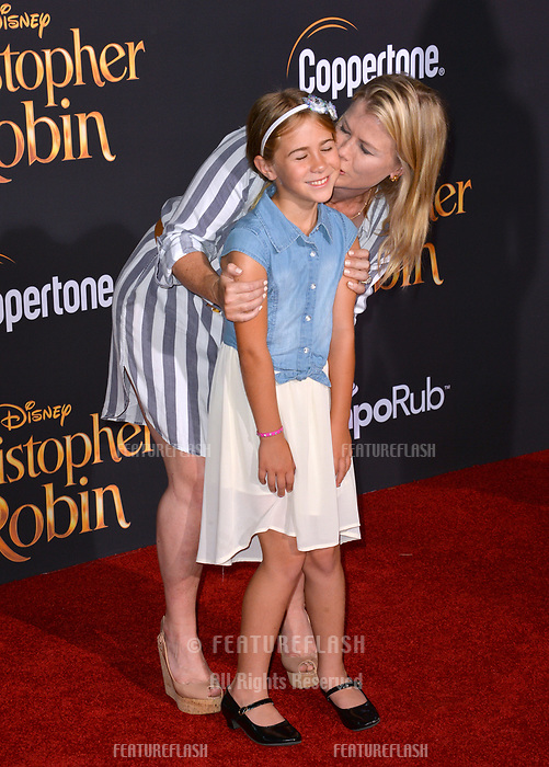 Alison Sweeney &amp; Megan Sanov at the world premiere of Disney's &quot;Christopher Robin&quot; at Walt Disney Studios, Burbank, USA 30 July 2018<br /> Picture: Paul Smith/Featureflash/SilverHub 0208 004 5359 sales@silverhubmedia.com