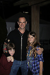Christopher Meloni and son Dante & daughter Sophia at the Figure Skating in Harlem  - the 2011 Skating with the Stars on April 4, 2011 at Wollman Rink, Central Park, New York City, New York. (Photo by Sue Coflin/Max Photos)