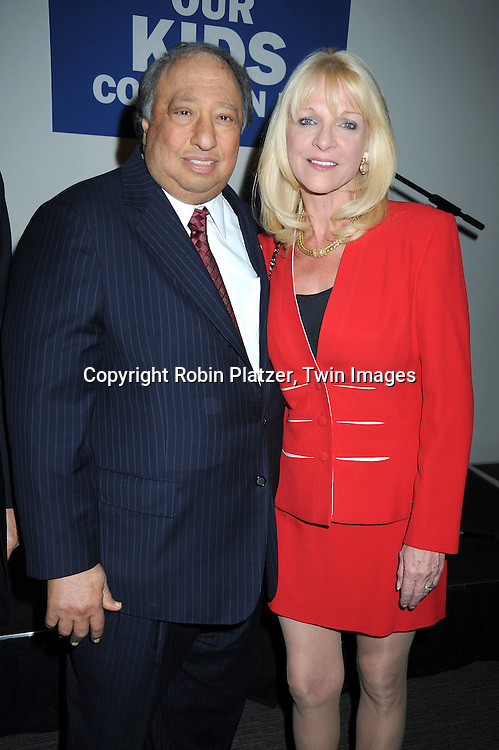 John Catsimatidis and Margo Catsimatidis attending The  National Center for Learning Disabilities 33rd Annual Benefit Dinner on April 28, 2010 at Tribeca Rooftop in New York City.