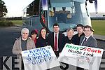 HEALTH LINK: l-r: Enda and Aisling Curtayne, Deirdre Walsh, Jim Garvey (Garvey Group), Tim Corkery (KCSG), David O'Mahony (KCSG) and Kevin McCarthy.