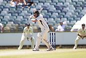 November 5th 2017, WACA Ground, Perth Australia; International cricket tour, Western Australia versus England, day 2; Western Warriors Will Bosisto in batting action