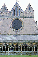 York: York Minster--Cloisters. Photo '87.