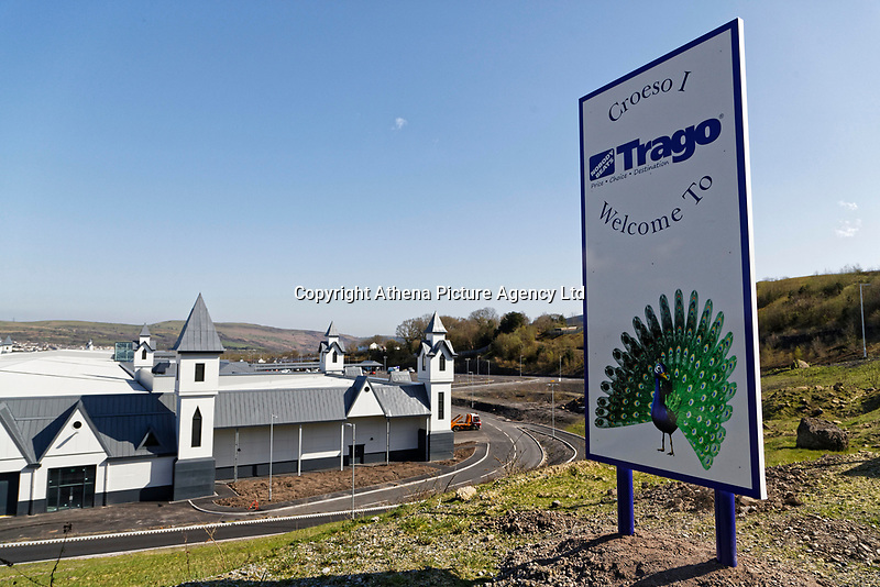 COPY BY TOM BEDFORD<br /> Pictured: Exterior view of the store.<br /> Re: Trago Mills Mega Store, which opened its doors in Merthyr Tydfil, and is the largest store in Wales, UK. It is a £65m investment creating 350 jobs in one of Britain's biggest unemployment blackspots