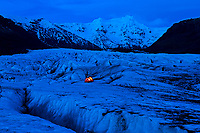 Some camping spots are cooler than others, Skaftafell National Park, Iceland