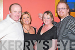 Fun: Making the most of the night at Sean Ogs Bar Christmas Staff party in Ballyroe Heights Hotel, Tralee, on Friday were John McElligott, Joan McElligott, Marion Lyons and Niall Hayles..