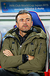 Luis Enrique (Barcelona), <br /> DECEMBER 20, 2015 - Football / Soccer : <br /> FIFA Club World Cup Japan 2015 <br /> Final match between River Plate 0-3 Barcelona  <br /> at Yokohama International Stadium in Kanagawa, Japan.<br /> (Photo by Yohei Osada/AFLO SPORT)