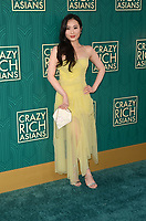 HOLLYWOOD, CA - AUGUST 7: Victoria Loke at the premiere of Crazy Rich Asians at the TCL Chinese Theater in Hollywood, California on August 7, 2018. <br /> CAP/MPI/DE<br /> &copy;DE//MPI/Capital Pictures