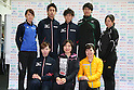 Short track Japan National Team Selection match for Sochi Olympic Games