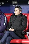 Futbol Club Barcelona's coach Ernesto Valverde  during La Liga match. November 24,2018. (ALTERPHOTOS/Alconada)