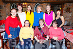 Annette Keane from Castlemaine celebrating her 40th birthday in Finnegans on Saturday night.<br /> Seated l-r, Maire Lehane, Annette Keane and Breda Flynn.<br /> Back l-r, Michaela McCarthy, Sheila Leen, Carmel Barry, Caroline McCarthy, Ann and Mags O&rsquo;Mahoney.