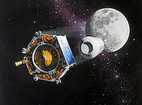 09/10/09 Nasa  crashes  spacecraft into  moon