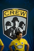 Guillermo Barros Schelotto before the start of the MLS Cup 2008, Columbus Crew vs New York Red Bulls, Sunday, November 23, 2008.