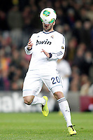 Real Madrid's Gonzalo Higuain during Copa del Rey - King's Cup semifinal second match.February 26,2013. (ALTERPHOTOS/Acero) /NortePhoto