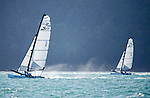 Sirena SL16 Fleet.<br /> Day3, 2015 Youth Sailing World Championships,<br /> Langkawi, Malaysia