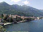 Il paese di Cannobio sul lago Maggiore