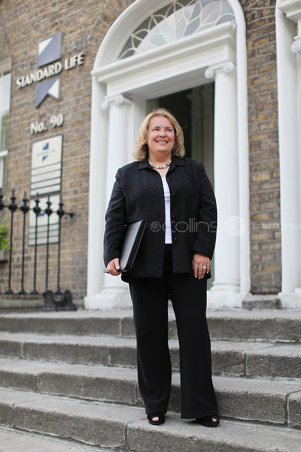 15/8/2011. Antoinette Boyd,Standard Life, Dublin.Picture James Horan/Collins Photo Agency