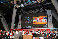 The opening ceremony of Tokyo Taste, The World Summit of Gastronomy 2009. 9 February 2009,Tokyo, Japan.Many of the world's top chefs are assembled for the sold-out 3 day event in the center of Tokyo.