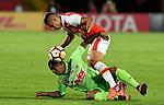 Independiente Santa Fe igualó 0-0 ante Deportivo Táchira (3-2 en el global). Segunda fase de la Conmebol Libertadores 2018.