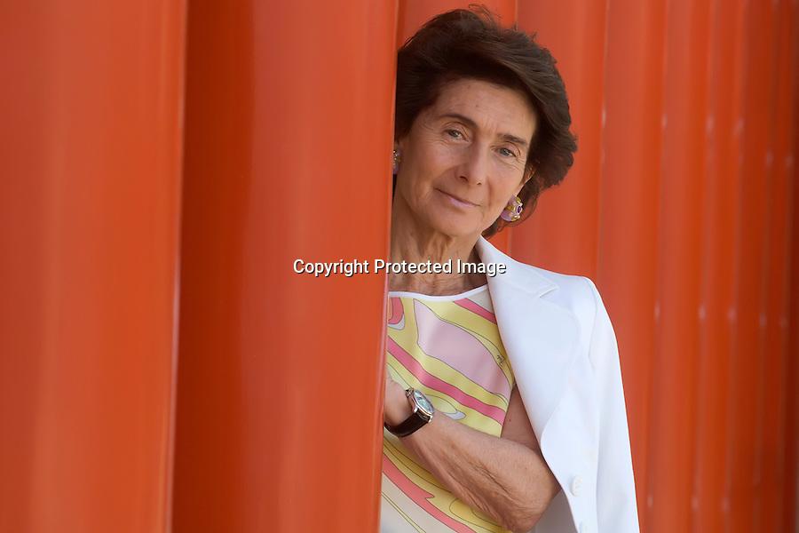 1 AGOSTO 2008 SANTANDER.Paloma O`shea presidenta de la Fundacion Albeniz que organiza el XVI Concurso Internacional de Piano..foto JOAQUIN GOMEZ SASTRE