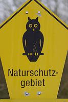Schild Naturschutzgebiet, NSG, nature reserve, protected area