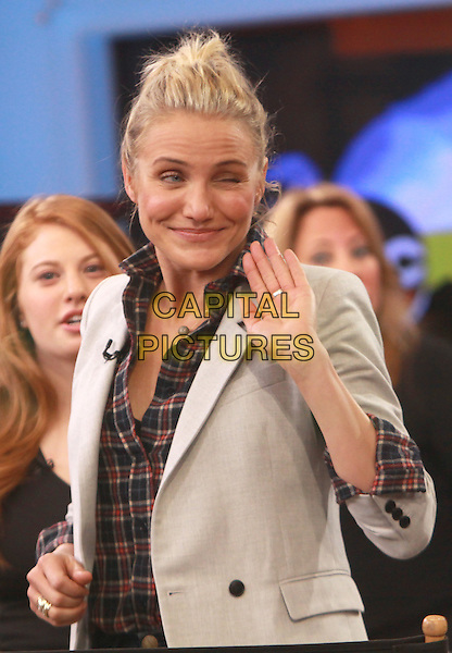 NEW YORK, NY - JANUARY 6: Cameron Diaz on the set of ABC's Good Morning America in New York City on January 6, 2013. <br /> CAP/MPI/RW<br /> &copy;RW/MPI/Capital Pictures