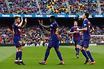 Umtiti goal FC Barcelona 2 a 1 Valencia FC Jornada 32 de liga, 14 Abril 2018, Estadio Camp Nou, Barcelona. Photo Martin Seras Lima