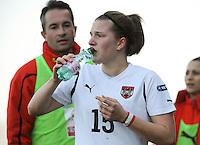 U19 Belgian Red Flames - Austria :<br /> <br /> Sophie Maierhofer<br /> <br /> foto Dirk Vuylsteke / Nikonpro.be