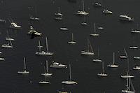 RIO DE JANEIRO  - RJ - 17/07/2013 - Vista da Baia de Guanabara do Pao de Acucar zoan sul da cidade do Rio de Janeiro, nesta quarta-feira, 17. Foto: Fabio Teixeira / Brazil photo press