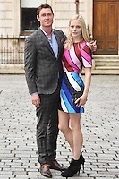 Max Brown and Annabelle Horsey (R) arrives for the VIP preview of the Royal Academy of Arts Summer Exhibition 2016