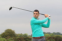 Jack Blake (Island) on the 2nd tee during Round 1 of The East of Ireland Amateur Open Championship in Co. Louth Golf Club, Baltray on Saturday 1st June 2019.<br /> <br /> Picture:  Thos Caffrey / www.golffile.ie<br /> <br /> All photos usage must carry mandatory copyright credit (© Golffile | Thos Caffrey)
