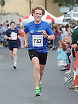 Andrew O'Sullivan running in the Clogherhead 10k run. Photo: Colin Bell/pressphotos.ie
