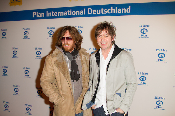 Volker Hinkel and Peter Freudenthaler of Fools Garden attending the 25 years Plan International Deutschland e.V.(german children help organisation) charity gala held at Fischauktionshalle, Hamburg, Germany, 01.03.2014. <br /> Photo by Christopher Tamcke/insight media /MediaPunch ***FOR USA ONLY***