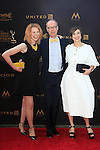 LOS ANGELES - APR 29: Stephanie Stender, Christopher Kimball, Melissa Baldino at The 43rd Daytime Creative Arts Emmy Awards Gala at the Westin Bonaventure Hotel on April 29, 2016 in Los Angeles, California